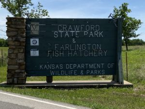 Crawford State Park Sign